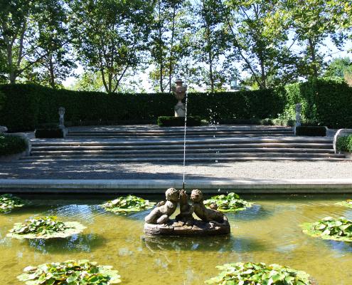 Site visit photo of Beaulieu Garden, a wedding venue for a Napa destination wedding