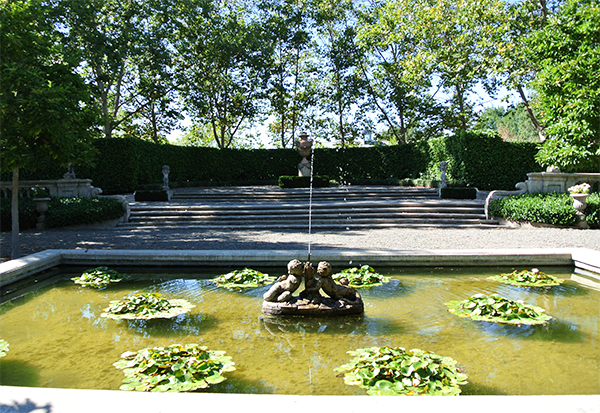 Site visit photo of Beaulieu Garden, a wedding venue for a Napa destination wedding