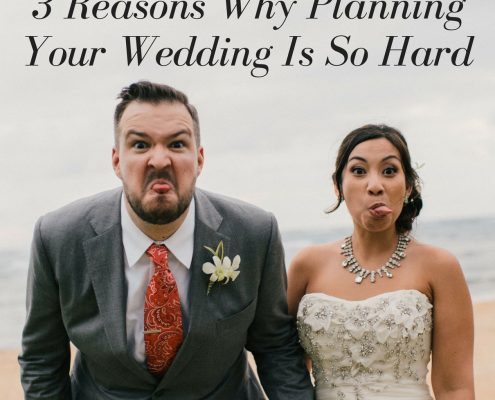 3 reasons why planning your wedding is so hard by Destination wedding planning guru Mango Muse Events