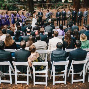 Stern Grove wedding ceremony in San Francisco by Destination wedding planner, Mango Muse Events