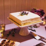 Wedding dessert bar with a wedding cake at a San Francisco destination wedding by Destination wedding planner, Mango Muse Events