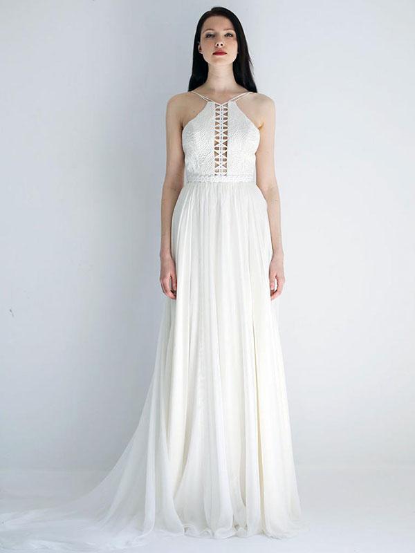 Beachy wedding dress by Leanne Marshall Spring 2018 Bridal