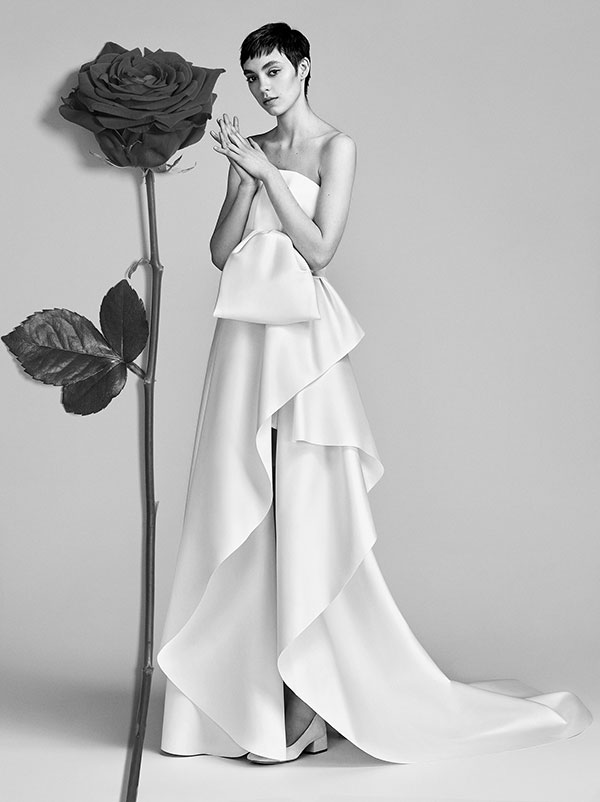Bow wedding dress by Victor and Rolf Spring 2018 Bridal