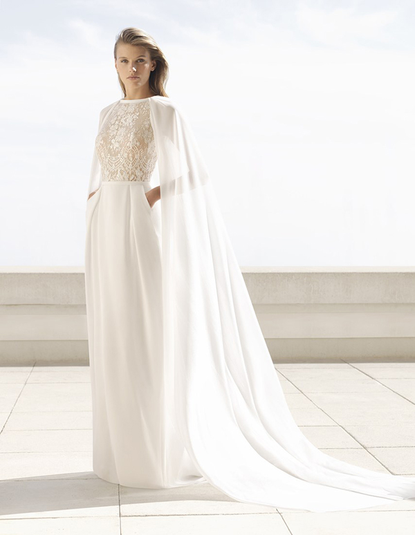 Wedding dress by Rosa Clara Fall 2018 Bridal