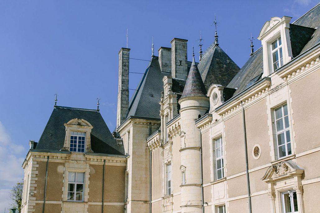 Chateau de Jalesnes wedding venue in Loire Valley