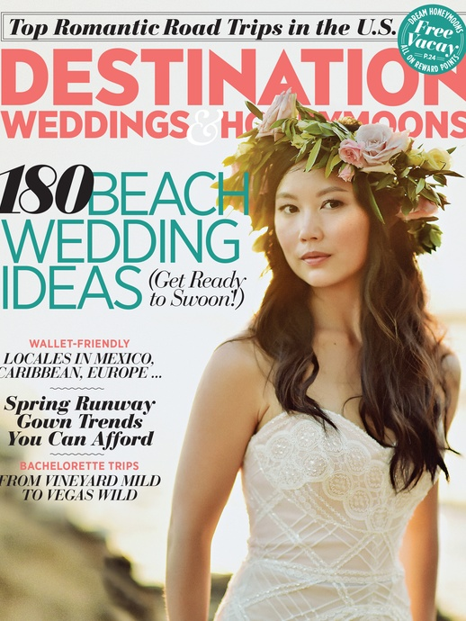 Destination weddings & honeymoons magazine feature by destination wedding planner Mango Muse Events