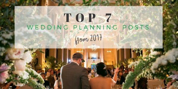 Top 7 wedding planning blog posts 2017 by Destination wedding planner Mango Muse Events