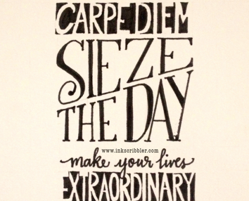 Carpe Diem from the Dead Poets Society