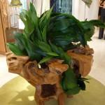Flowing Leaves Hawaii Ikebana arrangement at Neiman Marcus