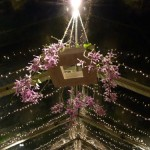 Floral chandelier a custom event design piece made by Destination wedding planner, Mango Muse Events