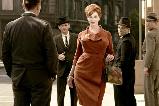 Joan Holloway clothing inspiration for Mad Men party ideas by Destination wedding planner, Mango Muse Events