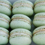 Mint green macarons wedding color trends