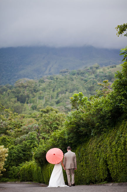 Rainforest wedding Costa Rica destination wedding by Destination wedding planner, Mango Muse Events