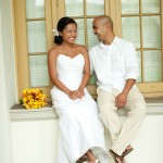 Happy couple who hired destination wedding planner, Mango Muse Events