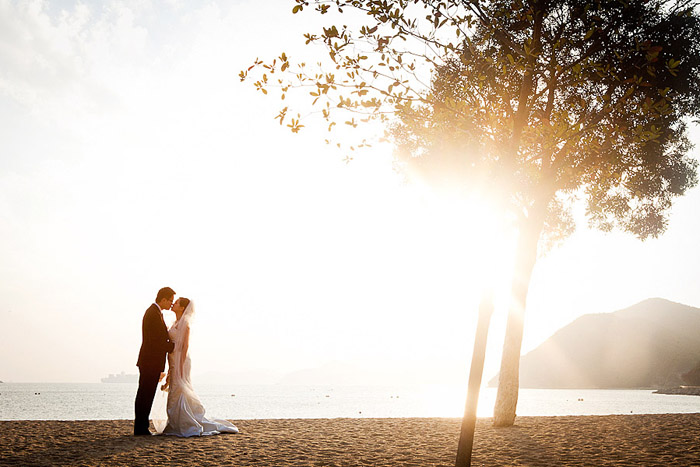 Beach in Hong Kong for a Hong Kong destination wedding by Destination wedding planner, Mango Muse Events