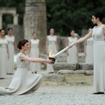 Olympics Greece Torch Lighting