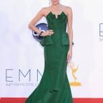 Allison Williams green dress Emmy fashion wedding inspiration by Destination wedding planner, Mango Muse Events