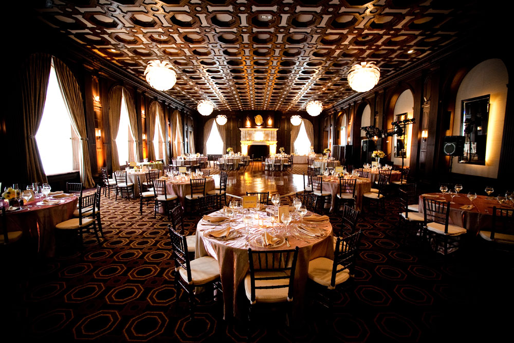 Julia Morgan Ballroom historic venue for a Halloween Wedding by Destination wedding planner Mango Muse Events