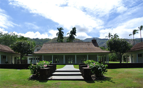 Main lodge of Dillingham Ranch a Hawaii wedding venue for a Hawaii destination wedding by Destination wedding planner Mango Muse Events