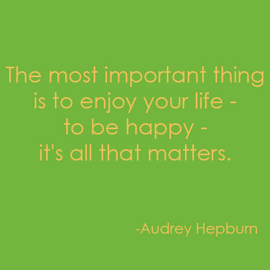 Audrey Hepburn quote inspiration mondays by Destination wedding planner Mango Muse Events