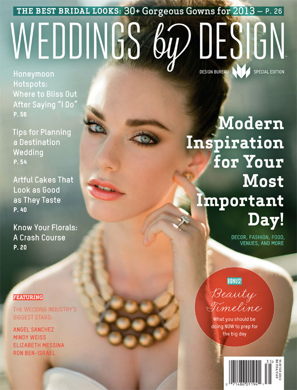 Design Bureau Magazine's Weddings by Design featuring Destination Wedding Planner Mango Muse Events