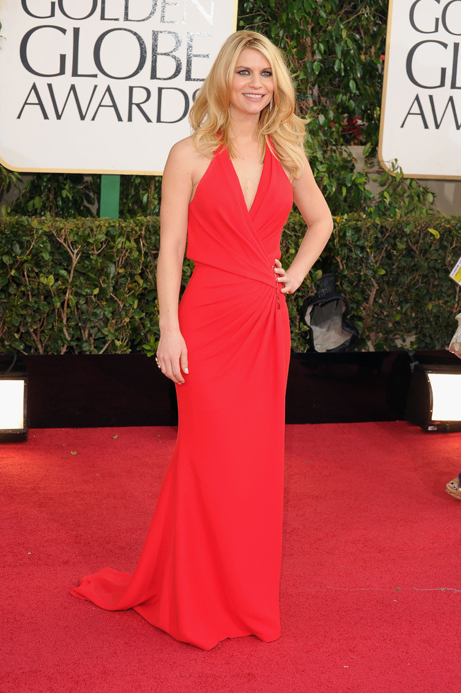 Claire Danes on the red carpet at the 2013 Golden Globes wedding inspiration by Destination wedding planner Mango Muse Events