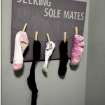 Single lone socks seeing sole mates