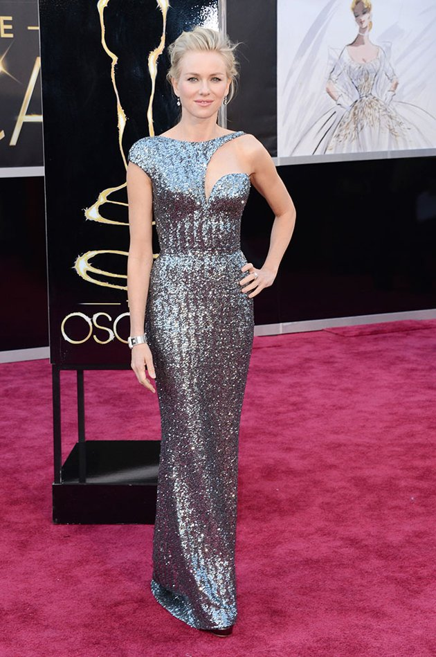 Naomi Watts on the red carpet 2013 Oscars wedding fashion inspiration picked by Destination wedding planner Mango Muse Events