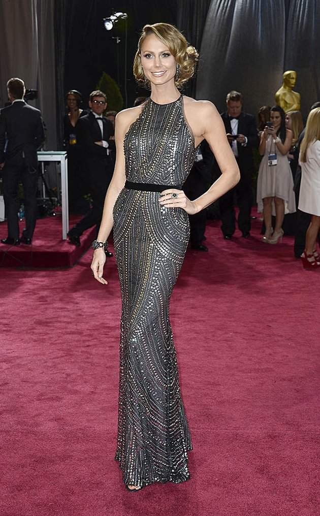 Stacy Keibler on the red carpet 2013 Oscars wedding fashion inspiration picked by Destination wedding planner Mango Muse Events