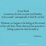 Jim Morrison true friend love quote