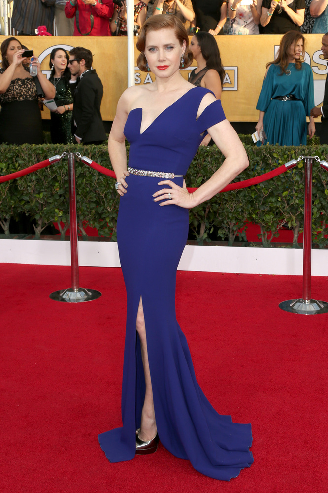 Amy Adams on the red carpet 2014 SAG Awards wedding inspiration by Destination wedding planner Mango Muse Events