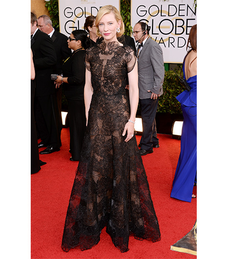 Cate Blanchett on the red carpet 2014 Golden Globes wedding inspiration picks by Destination wedding planner Mango Muse Events