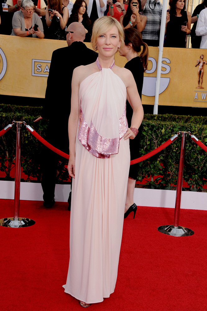 Cate Blanchett on the red carpet 2014 SAG Awards wedding inspiration by Destination wedding planner Mango Muse Events