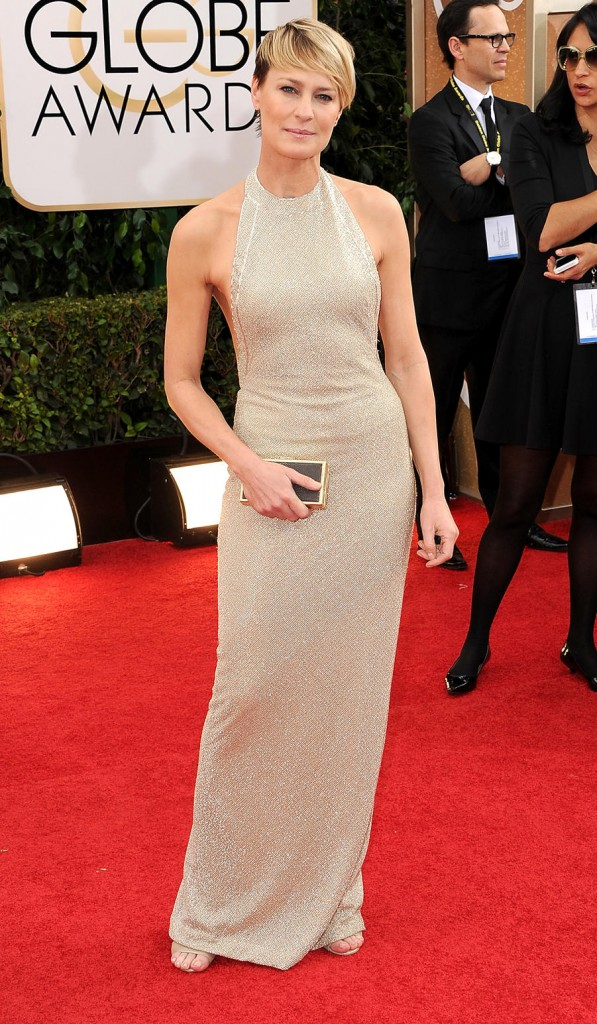 Robin Wright on the red carpet 2014 Golden Globes wedding inspiration picks by Destination wedding planner Mango Muse Events