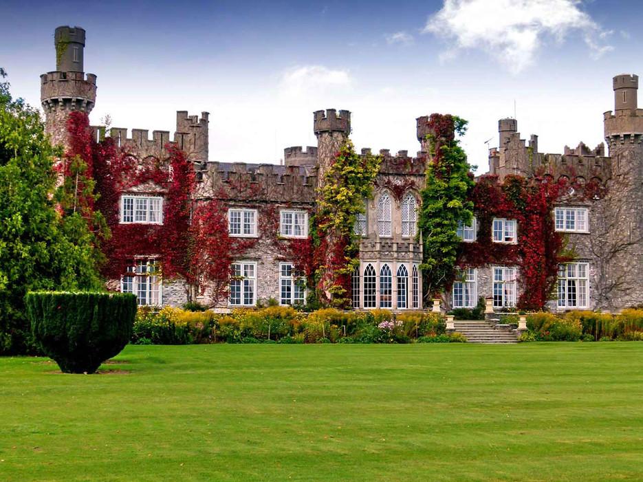 Destination wedding venue in Luttrellstown Castle in Ireland one of a few celebrity destination wedding venues