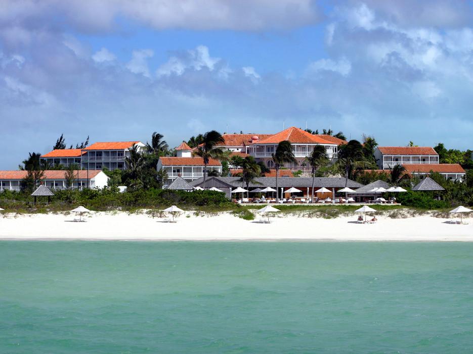 Destination wedding venue Parrot Cay Resort in Turks and Caicos one of a few celebrity destination wedding venues