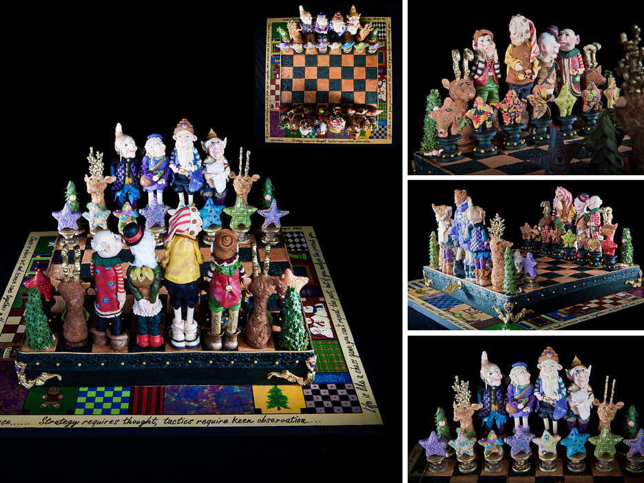 2014 Christmas chess board made out of Gingerbread one of a few amazing gingerbread houses from across the US