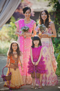 Small Wedding Party Indian Chinese Wedding Mango Muse Events