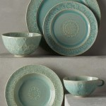Old Havana Dinnerware at Anthropologie wedding registry