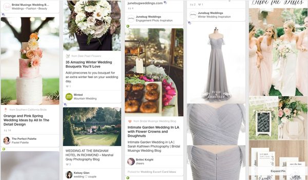 Inspiration overload from Pinterest