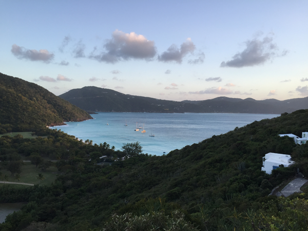 View of the Guana Island in the Caribbean, a destination wedding location by Jamie Chang destination wedding planner of Mango Muse Events.