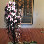 Forest woman Bouquets to Art 2015 at De Young Museum.