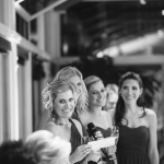 Bridesmaid giving a Toast at wedding reception by Jamie Chang destination wedding planner of Mango Muse Events.