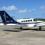 Cape Air Flight for Caribbean Destination Wedding