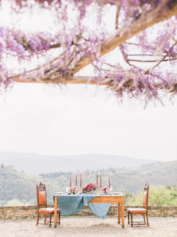 Montestigliano, Tuscany a destination wedding location in Italy.