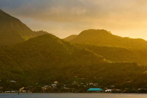 Unplugged destination vacations. American Samoa.