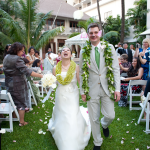 Happy Anniversary! Destination wedding in Hawaii. Event design by Jamie Chang at Mango Muse Events.