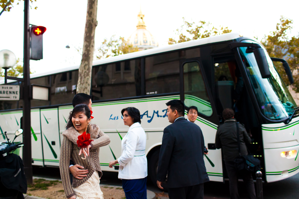 How to plan your wedding shuttles. Wedding tip by Jamie Chang of Mango Muse Events.