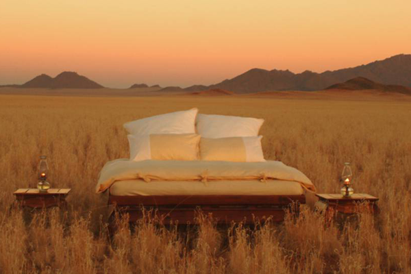 Unplugged destination vacations. Wolwedens, Namibia, Africa.