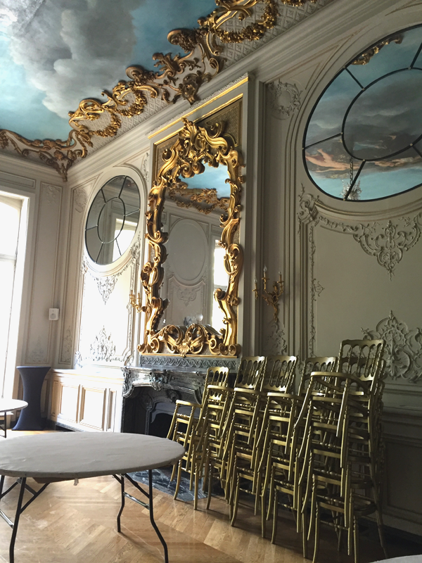 Bolivar room at the Salons France Ameriques a destination wedding venue in Paris